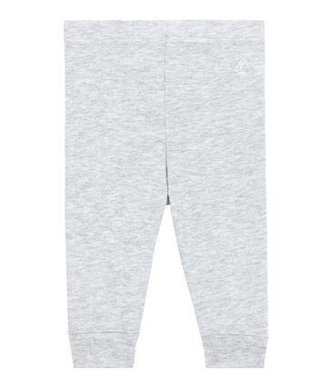 Leggings per bebè femmina grigio Beluga Chine
