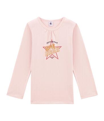 tee-shirta maniche lunghe per bambina