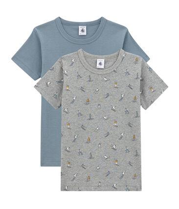 Lotto di 2 t-shirts maniche corte per bambino