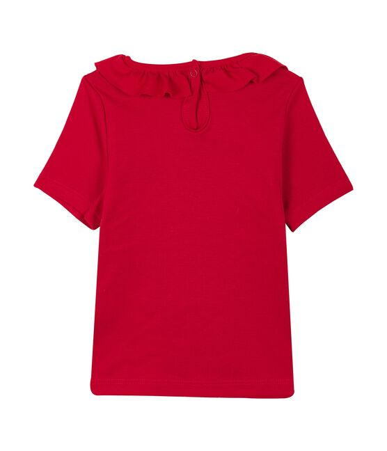 Blusa mc bebè femmina rosso Terkuit