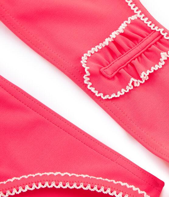Costume a 2 pezzi bambina rosa Cupcake