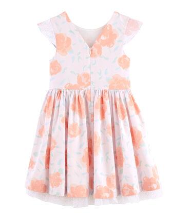 Abito da cerimonia bambina rosa Vienne / bianco Multico