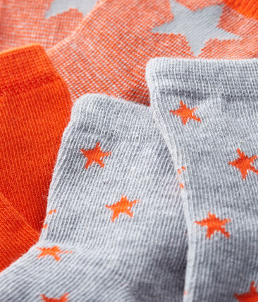 Confezione da 3 paia di calzini bebè maschio