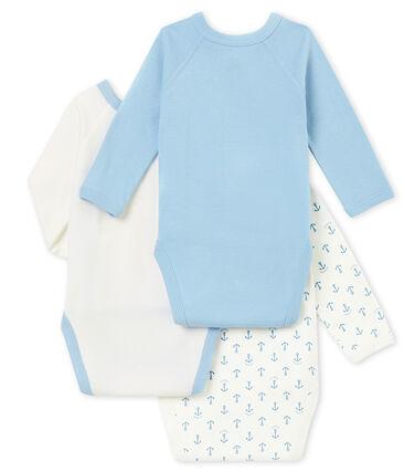 Lotto di 3 bodies nascita a maniche lunghe bebé maschio