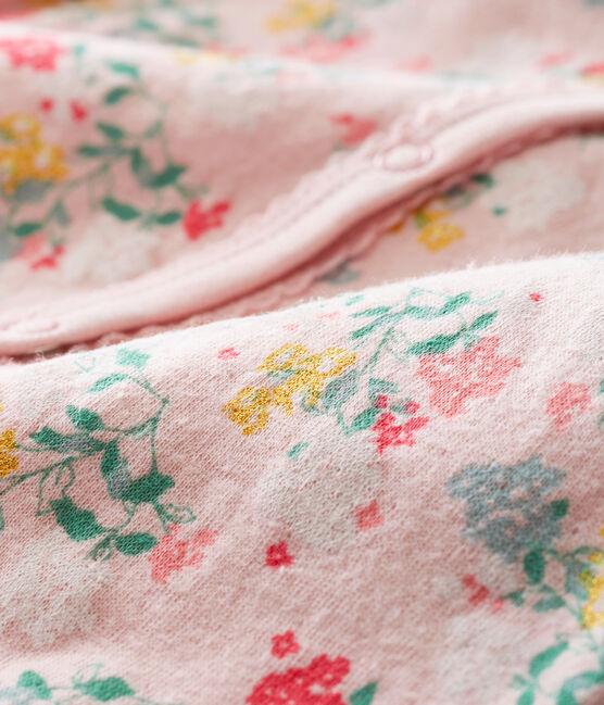 Tutina per bebé femmina rosa Joli / bianco Multico