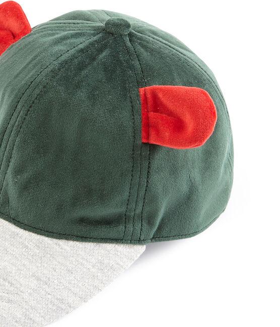 Berretto bambina verde Sousbois