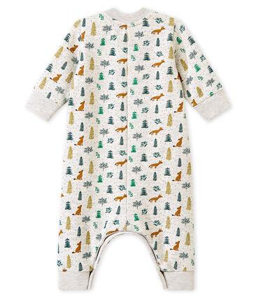 Tutina lunga stampata per bebé maschio