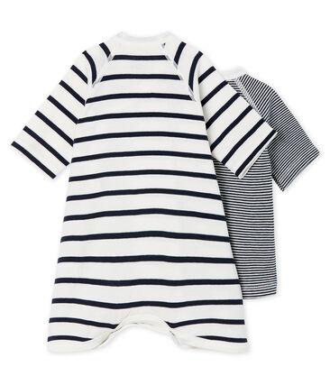 Confezione body kimono e brassière bebè a costina