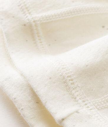 Cuffietta nascita bebè unisex bianco Marshmallow / bianco Multico