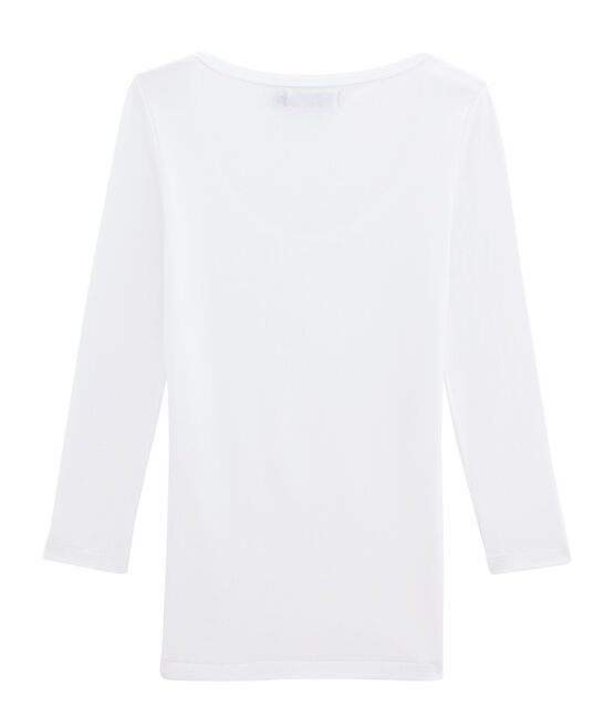 T-shirt iconica donna bianco Ecume