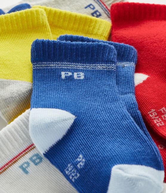 Set di 5 paia di calzini bebè bambino lotto .