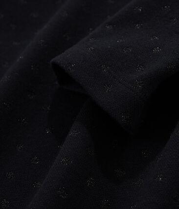 Marinière rivisitata donna nero Noir / nero Lurex Noir