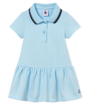 Abito body mc bebè femmina blu Bocal