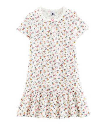 Camicia da notte bambina a costine