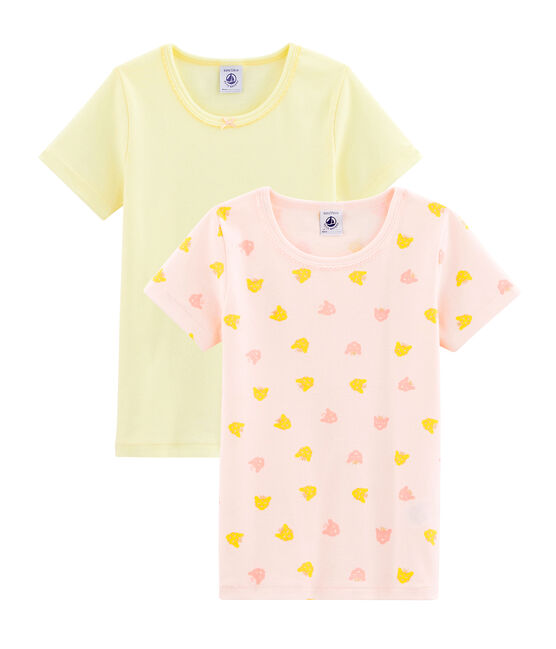 Duo t-shirt bambina lotto .