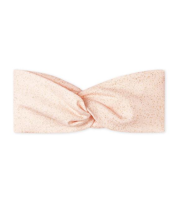 Fascia bebè femmina rosa Fleur / giallo Or
