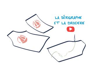 Video La Serigraphie et la Broderie